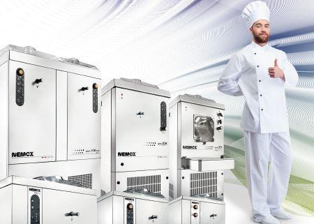 Prodotti NEMOX macchine da Gelato