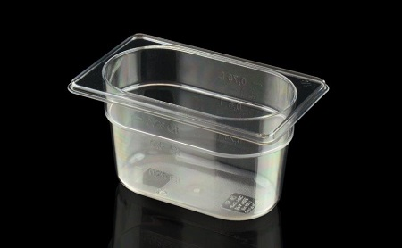 Gastronorm 1/9 108 × 176 mm in Tritan