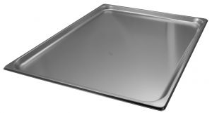 GST2/1P020 Container Gastronorm 2 / 1 h20 mm stainless steel AISI 304