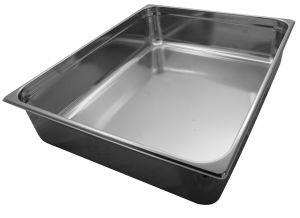 GST2/1P200 Récipient Gastronorm 2 / 1 H200 mm en acier inoxydable AISI 304