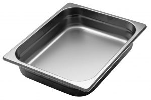 GST1/2P065 Gastronorm Container 1 / 2 h65 mm stainless steel AISI 304