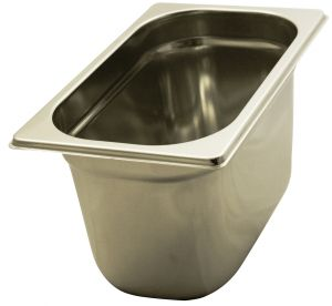 GST1/4P150 Gastronorm Container 1 / 4 h150 stainless steel AISI 304