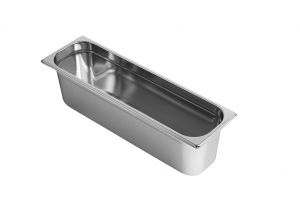 GST2/4P150 Gastronorm Container 2 / 4 h150 stainless steel AISI 304