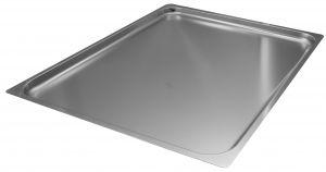 FNC2/1P020 Gastronorm 2 / 1 h20 inoxidable AISI 304 borde de acero plano