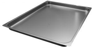FNC2/1P040 Gastronorm 2 / 1 h40 inoxidable AISI 304 borde de acero plano