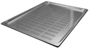 GST2/1P020F Contenitore Gastronorm 2/1 h20 forato in acciaio inox AISI 304