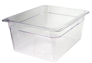 GST1/2P100P Gastronorm Container 1 / 2 h100 polycarbonate