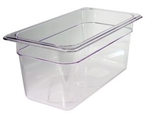 GST1/3P065P Gastronorm Container 1 / 3 h. 65 polycarbonate
