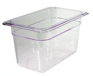 GST1/4P065P Gastronorm Container 1 / 4 h65 polycarbonate