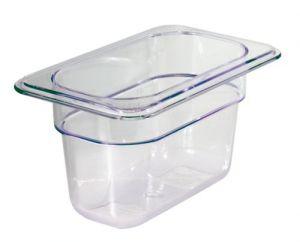 GST1/9P100P Gastronorm Container 1 / 9 h100 polycarbonate