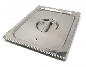 CPR1/2T couvrent 1 / 2 en acier inox AISI 304 avec joint d'étanchéité