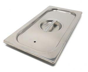 CPR1/3T couvrent 1 / 3 en acier inox AISI 304 avec joint d'étanchéité