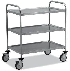 TEC1101 Cart Technical stainless steel AISI 304 3-storey demountable