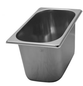 VG261615 stainless steel tubs 260x160x H150 mm