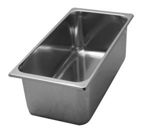VG331615 stainless steel tubs 330x165x H150 mm