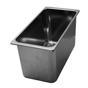 VG331618 stainless steel tubs 330x165x H180 mm