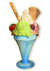 SG017 Copa de helado altura 205 cm