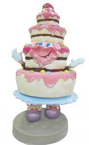SR062 Cake - Gâteau publicitaire 3D pour la gastronomie hauteur 180 cm