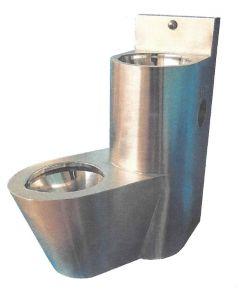 LX3650 WC combinaison + lavabo - Version gauche - Satin