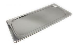 VGCOP3616 Coperchio inox per vaschetta gelato di dim. 360X165mm