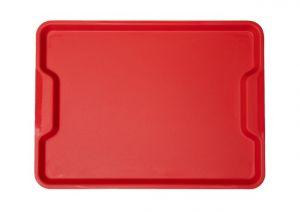 GEN-100603 Vassoio in polipropilene - Collezione Ergonomica - Fast food - Misure esterne 41,5x30,5 cm
