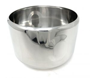 VGCV00AR-2-IF ANTI-ROTATION half carapina in professional stainless steel diam.mm 200x125h