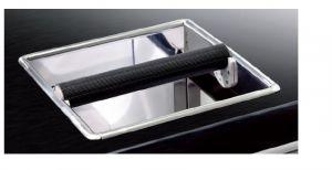 CBC001 Marco de grapas de acero inoxidable Dimensiones 250 mm x 250 mm