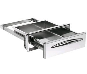 ICCSP40 Service drawer in stainless steel drawer depth 44.4 cm