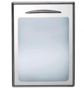 ICSPV60-DX Single glass door opening to the right. Interchangeable magnetic gasket