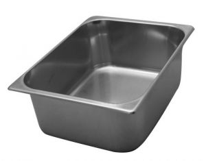 VG362512 stainless steel tubs 360x250x H120 mm
