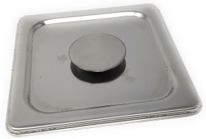 VGCV09 Stainless steel lid for fruttini pan dim. 165x165mm