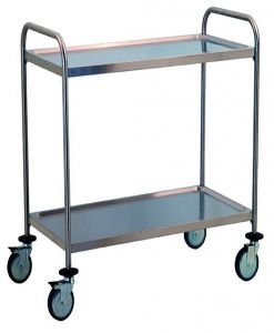 TEC1110 Cart Technical Professional stainless steel removable 2-storey