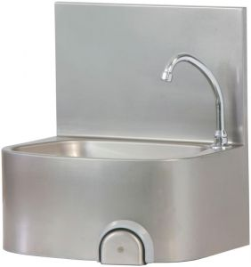 TLM 48 Handwashing steel wall