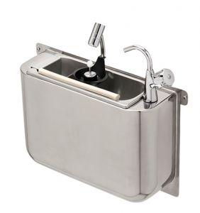 LVPCARPG Rince-cuillers GOLD carénée avec robinet et douche