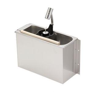 LVPCARS Icecream scoop washer STANDARD with SHOWER