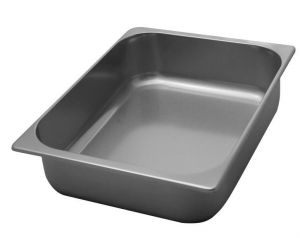 VG362540 Stainless steel ice cream bowl 360x250x h40 mm