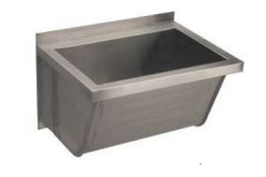 LX1810 Washbasin 600x450x360 mm AISI 304 - SATIN