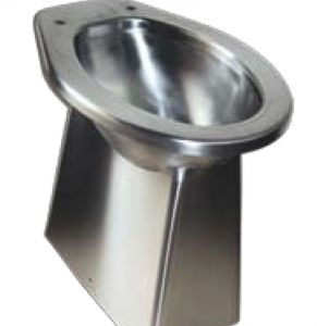 LX3140 stainless steel floor-mounted toilet seat530x360x500 mm