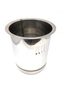 Cabina de acero inoxidable AISI 304 VGPZ12-AR para 1 ANTIROTACIÓN de carapina
